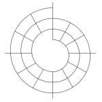 Cette spirale permet de visualiser toute votre journée. Un excellent outil d'organisation.